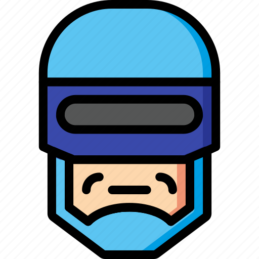 Color, film, mechanical, movie, robocop, robots, ultra icon - Download on Iconfinder