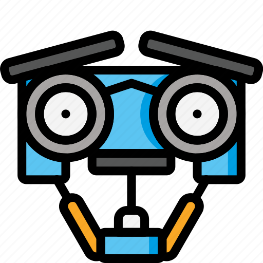 Color, droid, johnny, mechanical, movie, robots, ultra icon - Download on Iconfinder