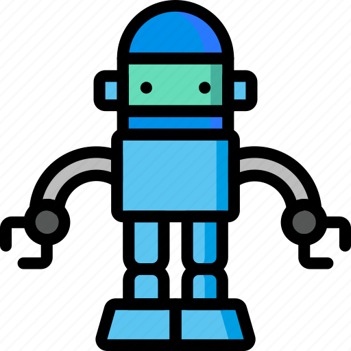 Droid, color, movie, bot, robots, mechanical, film icon - Download