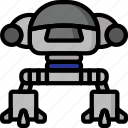 color, droid, ed, film, mechanical, movie, robots icon