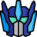 color, droid, film, mechanical, movie, optimus, robots icon