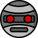 color, droid, film, mechanical, movie, robots, terrahawk icon