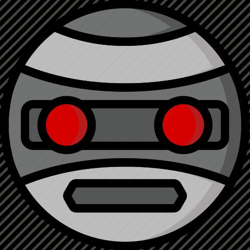 Color, droid, film, mechanical, movie, robots, terrahawk icon - Download on Iconfinder