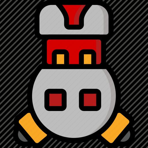color, droid, film, mechanical, movie, robots, vincent icon