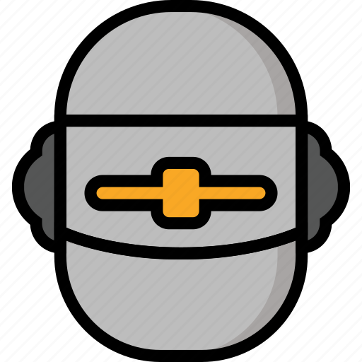 Color, film, head, klaatu, mechanical, movie, robots icon - Download on Iconfinder