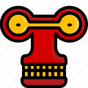 color, droid, film, mechanical, movie, roberto, robots icon