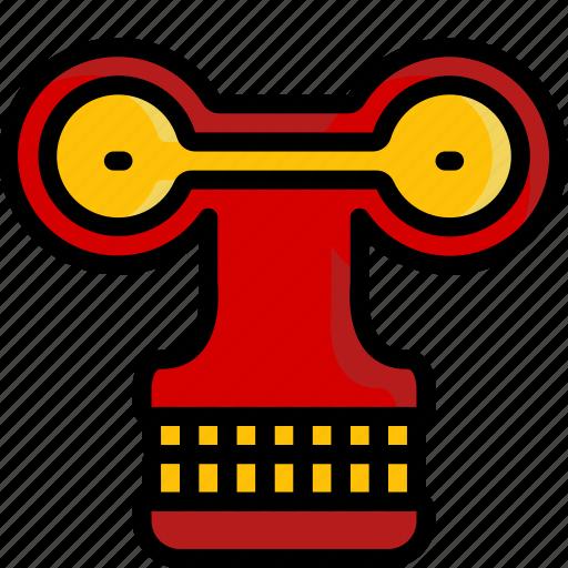 color, droid, film, mechanical, movie, roberto, robots icon