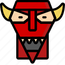 color, film, mechanical, movie, robot, robots, satan icon