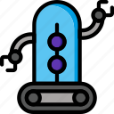 bot, color, droid, film, mechanical, movie, robots icon