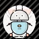 bot, droid, robot, cyborg