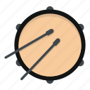 beat, drum, drummer, drumstick, instruments, noise, stick icon