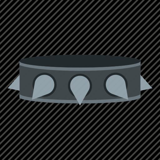 band, collar, metal, music, n, rock collar, roll icon