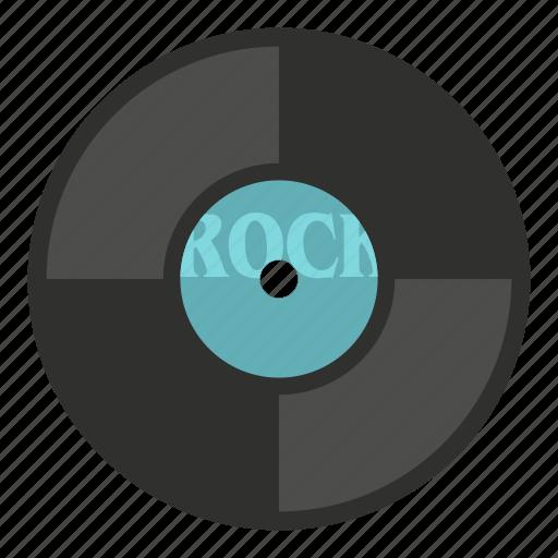 audio, disc, label, music, record, sound, vinyl icon