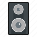 announce, announcement, audio, bass, speaker, subwoofer icon