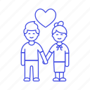 1, boyfriend, couple, engagement, girlfriend, hand, heart, holding, in, iromance, love icon