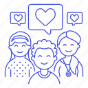 1, bubble, committed, couple, heart, in, love, people, relationship, romance, speech icon