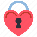day, heart, lock, romance, valentines