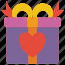 day, gift, romance, valentines icon