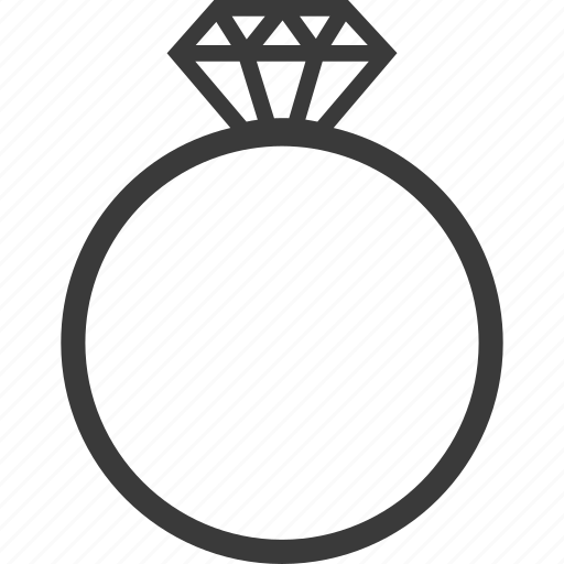 Diamond, engagement, love, ring icon - Download on Iconfinder