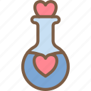 day, love, potion, romance, valentines icon