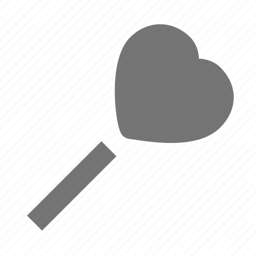 heart, sign, wand icon