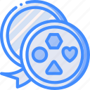 chocolates, day, romance, valentines icon