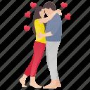 couple dance, lovers, married couple, romance, romantic couple icon