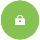closed, green, keylock, keypad, lock, secure icon