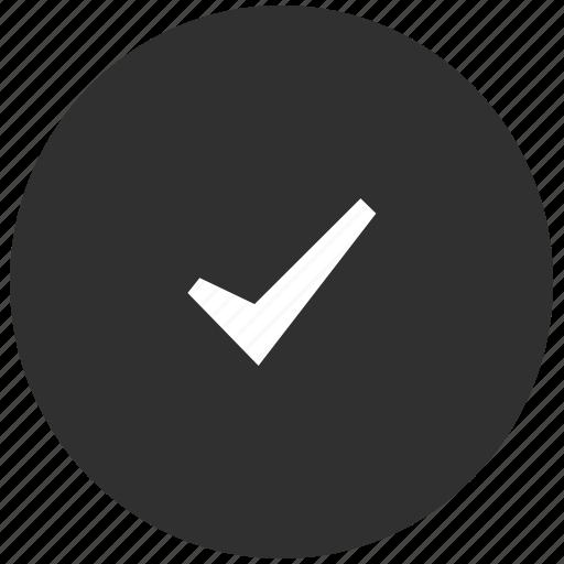 Tick Icon Done Grey Ti...