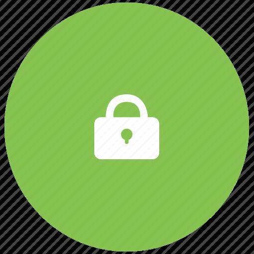 closed, green, keylock, keypad, lock, secure icon