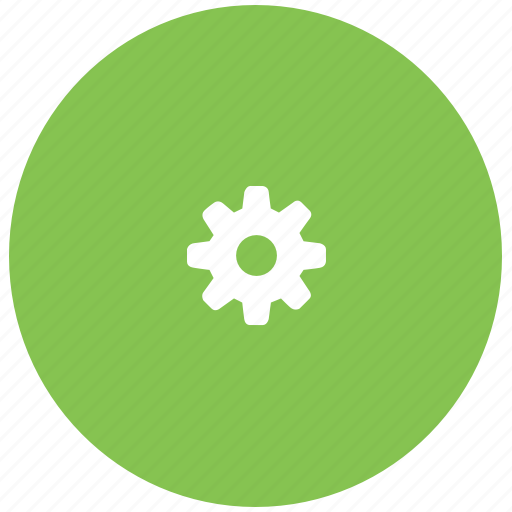 gear, gears, green, preferences, settings, system icon