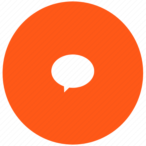 chat, im, message, quote, red icon