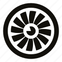 engine, material, engine blades, turbine, jet engine, circle, airplane