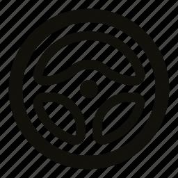 automobile, car parts, car steering wheel, circle, steering wheel, vehicle part, wheel icon