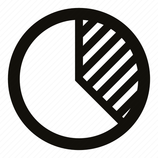 chart, circle, graph, percent, pie chart, segment, statistics icon