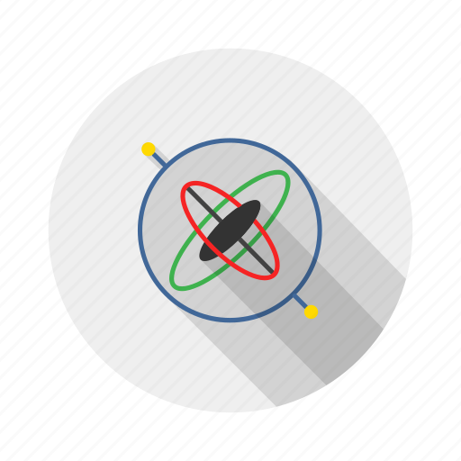 gps, gyro, gyroscope, position icon