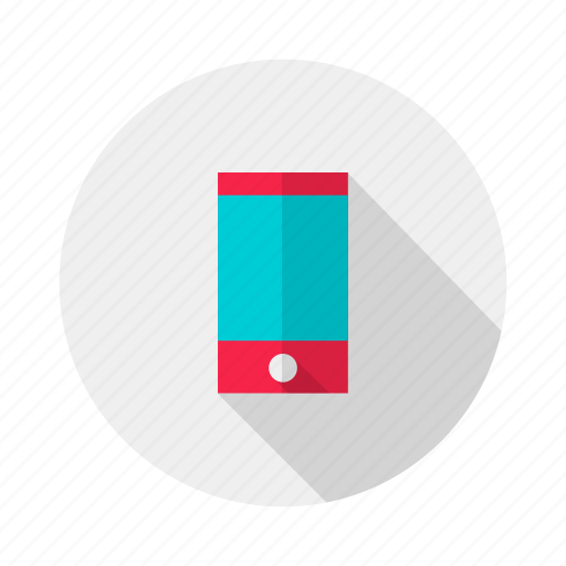 device, electronic, mobile, phone icon