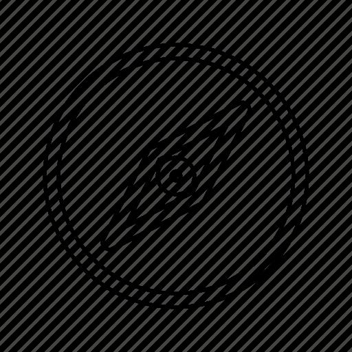 compass, social icon