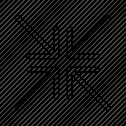 fullscreen, minimise icon