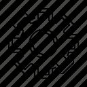 custom, gear, settings icon