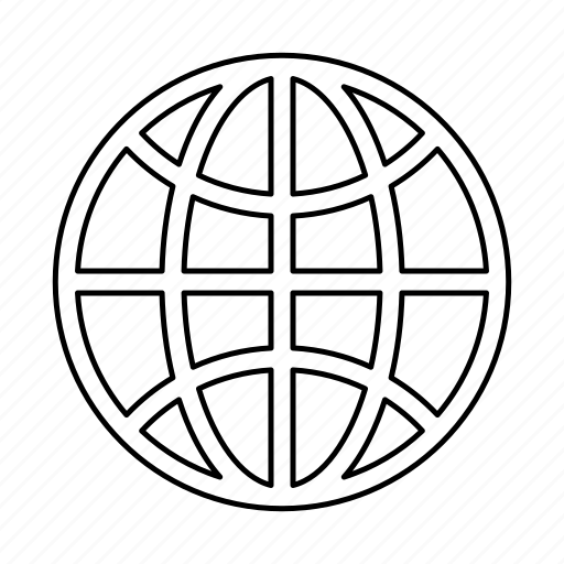 globe, internet icon