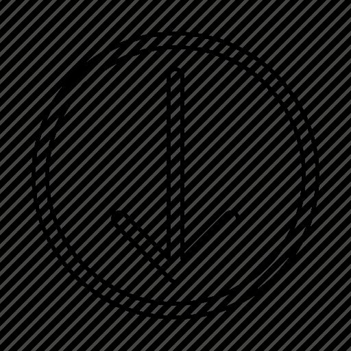 down, move icon