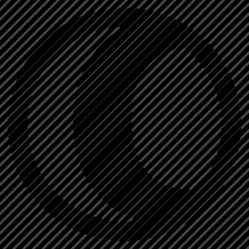 alphabet, c, character, round, social icon