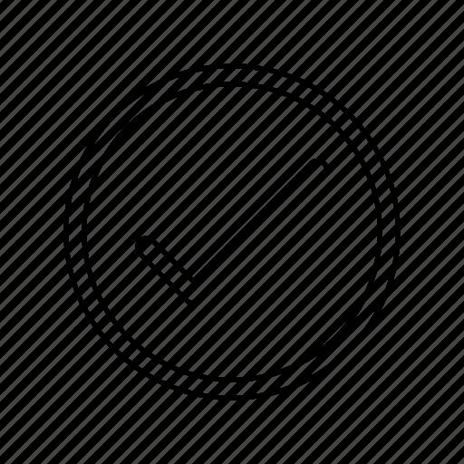 approve, checkmark icon