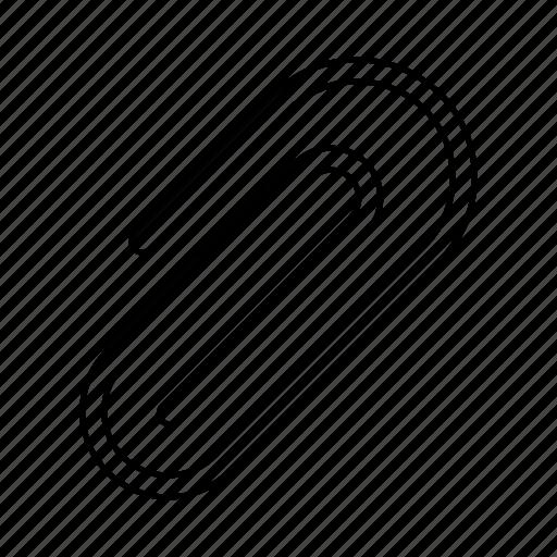 attach, clip, paperclip icon