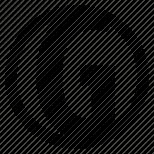 alphabet, character, g, round icon