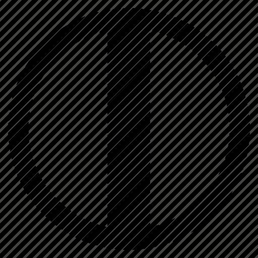 alphabet, character, i, round, social icon