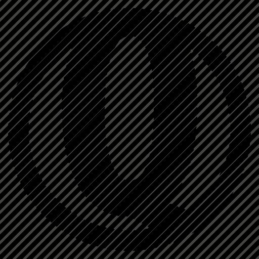 alphabet, character, q, round, social icon
