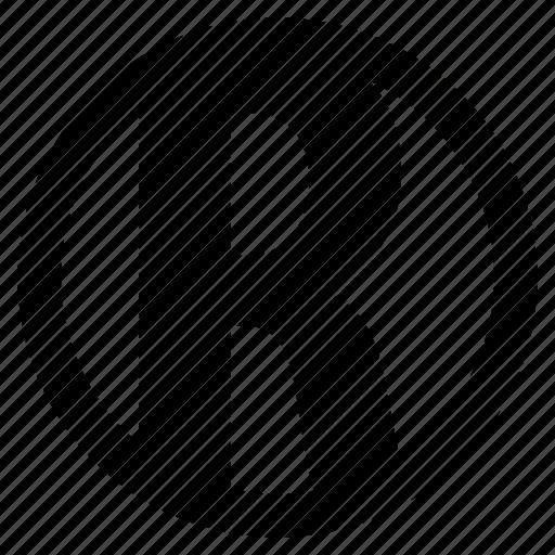 alphabet, character, r, round icon