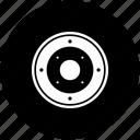 car, speaker, tech icon